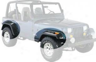 1987-1995 Jeep Wrangler Fender Flares Bushwacker Jeep Fender Flares 10909-07 87 88 89 90 92 92 93 94 95