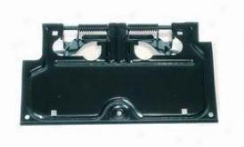 1987-1995 Jeep Wrangler License Plate Bracket Rugged Extended elevation Jeep License Plate Bracket 11233.01 87 88 89 90 91 92 93 94 95
