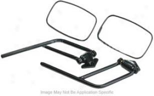 1987-1995 Jeep Wrangler Mirror Crown Jeep Mirror 55027208 87 88 89 90 91 92 93 94 95