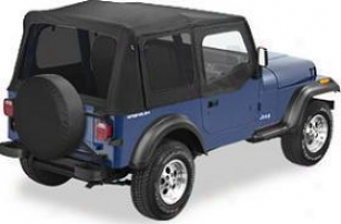 1988-1995 Jeep Wrabgler Soft Top Bestop Jeep Soft Rise above 51123-15 88 89 90 91 92 93 94 95