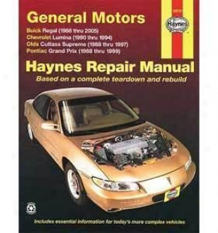 1988-2004 B8ick Regal Repair Manual Haynes Buick Repair Manual 38010 88 89 90 91 92 93 94 95 96 97 98 99 00 01 02 03 04