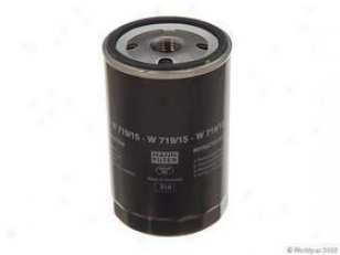 1989-1990 Bmw 525i Oil Filter Mann-filter Bmw Oil Filter W0133-1639328 89 90