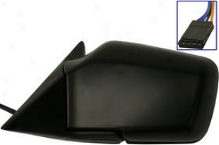 1989-1992 Bmw 525i Mirror Kool Vue Bmw Reflector Bm20el 89 90 91 92