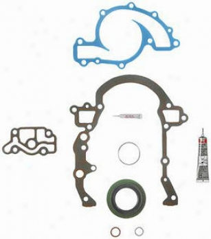 1989-1993 Buick Skylafk Timing Cover Gasket Set Felpro Buick Tmiing Cover Gasket Set Tcs45974 89 90 91 92 93