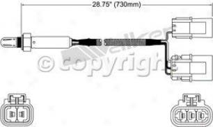 1989 Nissan Maxima Oxygen Sensor Walker Products Nissan Oxygen Sensor 25024505 89