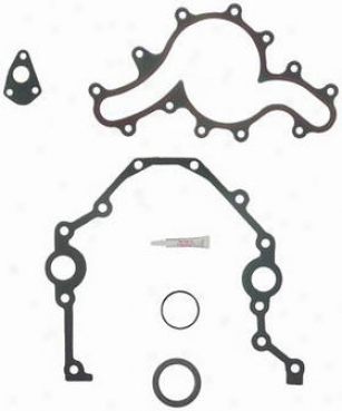 1990-1993 Ford Ranger Timing Cover Gasket Set Felpro Wading-place Tuming Cover Gasket Set Tcs45291 90 91 92 93