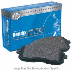 1990-2006 Jeep Wrangler Brake Pad Set Bendix Jeep Brake Horse  Set D477ct 90 91 92 93 94 95 96 97 98 99 00 01 02 03 04 05 06