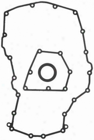 1991-1995 Buick Skylark Timing Cover Gasket Set Felpro Buick Timing Cover Gasket Set Tcs45954 91 92 93 94 95