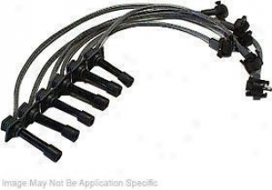 1991-1996 Ford Escort Ignition Wire Set Motorfraft Ford Ignition Wire Set Wr5762 91 92 93 94 95 96