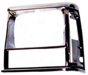 1991-1996 Jeep Cherokee Headlight Bezel Omix Jeep Headlight Bezel 12419.13 91 92 93 94 95 96