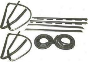 1992-1994 Chevrolet Blazer Beltline Weatherstrip Precision Parts Chevfolet Beltline Weatherstrip Dk 1110 88 92 93 94