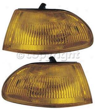 1992-1995 Honda Civic Corner Light Anzo Honda Corner Light 521019 92 93 94 95