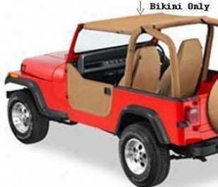 1992-1995 Jeep Wrangler Soft Top Tops4less Jeep Soft Top Bt97519-37 92 93 94 95