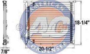 1993-1995 Bmw 325i A/c Condenser Aci Bmw A/c Condenser P34642s 93 94 95