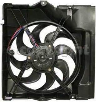 1993-1995 Bmw 325i A/c Condenser Fan Replacement Bmw A/c Condenser Fan B190904 93 94 95