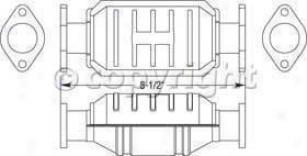 1993-1995 Geo Prizm Cataytic Converter Magnaflow Geo Catalytic Converter 23656 93 94 95