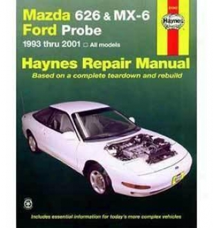 1993-1997F ord Probe Repair Manual Haynes Ford Repair Manual 61042 93 94 95 96 97