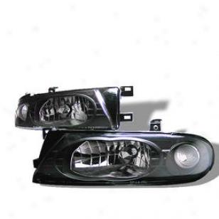 1993-1997 Nissan Altima Headlight Spyder Nissan Headlight Hdydna93bk 93 94 95 96 97