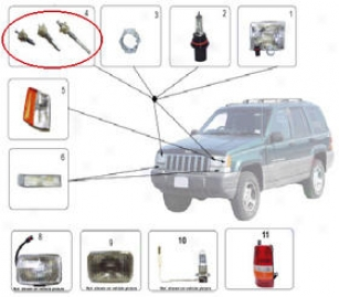 1993 Jeep Grand Wagoneer Headlight Adjust Screw Crown Jwep Headlight Adjust Screw 56006403 93