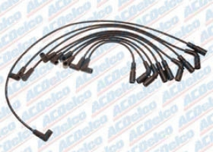 1994-1995 Buick Roadmaster Ignition Wire Set Ac Delco Buick Ignition Wire Set 718f 94 95
