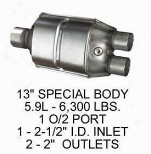 1994-1995 Dodge Ram 1500 Catalytic Converter Oriental Dodge Catalytic Converter 70535 94 95