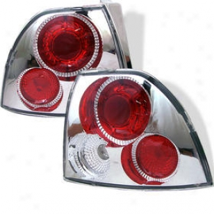 1994-1995 Honda Accord Tail Light Spyder Honda Tail Light Alt-yd-ha94-c 94 95
