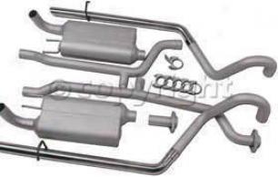 1994-1996 Chevrolet Impala Exhaust System Flowmaster Chevrolet Exhaust System 17118 94 95 96