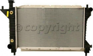 1994-1996 Stream Mustang Radiator Replacement Flrd Radiator P1488 94 95 96