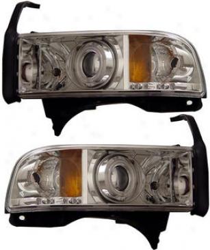 1994-2001 Dodge Ram 1500 Headlight Anzo Dodge Headlight 111056 94 95 96 97 98 99 00 01