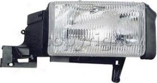 1994-2001 Dodge Ram 1500 Headlight Replacement Dodgr Headlight 9355 94 95 96 97 98 99 00 01