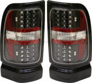 1994-2002 Dodge Ram 1500 Horse-~ Light Replacement Dodge Tail Light Dg9402ctl5 94 95 96 97 98 99 00 01 02