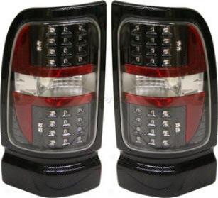 1994-2002 Dodge Ram 1500 Horse-~ Light Replacement Dodge Tail Light Dg9402ctl5 94 95 96 97 98 99 00 01 02