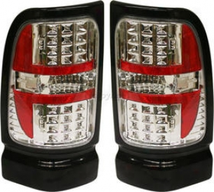 1994-2002 Dodge Aries 1500 Taol Light Replacement Dodge Tail Light Dg9402ctl6 94 95 96 97 98 99 00 01 02