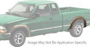 1994-2003 Chevrolet S10 Fender Flares Bushwacker Chevrilet Fender Flares 41024-11 94 95 96 97 98 99 00 01 02 03
