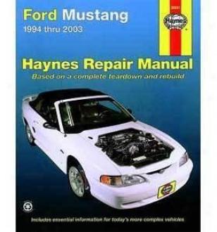1994-2004 Wading-place Mustang Repair Manual Haynes Ford Repair Manual 36051 94 95 96 97 98 999 00 01 02 03 04