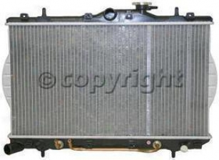 1995-1996 Hyundai Accentuate Radiator Replacement Hyundai Radiator P1816 95 96