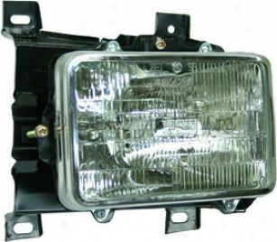 1995-1997 Chevrolet Blazer Headlight Sealed Beam Replacement Chevrolet Headlight Sealed Beam 89-123 95 96 97