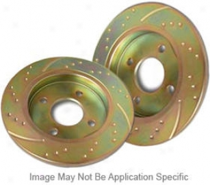 1995-1998 Volkswagen Golf Brake Disc Ebc Volkswagen Brake Disc Gd577 95 96 97 98