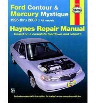 1995-2000 Ford Contour Repair Manual Haynes Ford Repair Manual 36006 95 96 97 98 99 00