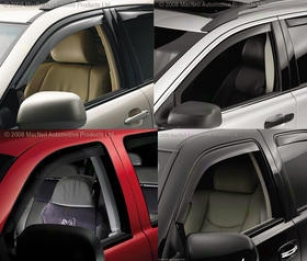 1995-2001 Dodge Ram 1500 Vent Visor Weathertech Dodge Crenelle Visor 80027 95 96 97 98 99 00 01