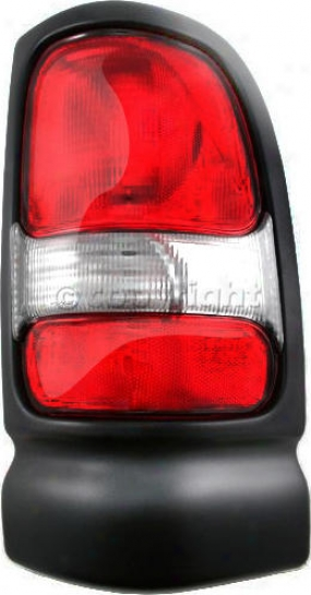 1995-2002 Dodge Ram 1500 Tail Light Replacement Dodge Tail Light Tri4729 95 96 97 98 99 00 01 02
