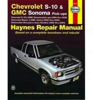 1995-2004 Chevrolet Blazer Repair Manual Haynes Chevrolet Repair Manual 24071 95 96 97 98 99 00 01 02 03 04