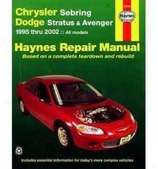 1995-2005 Chrysler Sebring Repair Manual Haynea Chrysler Repair Manual 25040 95 96 97 98 99 00 01 02 03 04 05