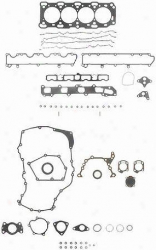 1996-1997 Buick Skylark Cylinder Head Gasket Felpro Buick Cylinder Head Gasket Hs9115pt 96 97