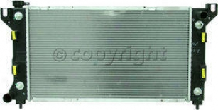 1996-2000 Chrysler Town & Country Radiator Replacement Chrysler Radiator P1862 96 97 98 99 00