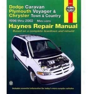 1996-2002 Chrysler Town & Native land Repaor Manual Haynes Chrysler Repair Manual 3001 96 97 98 99 00 01 02