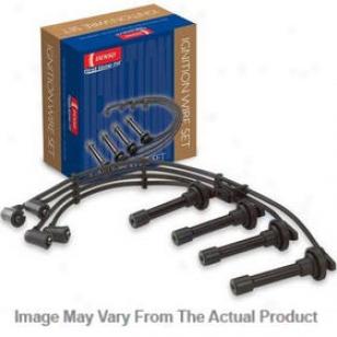 1996-2009 Hyundai Elantra Ignition Wire Set Denso Hyundai Ignktion Wire Set 671-4239 96 97 98 99 00 01 02 03 04 05 06 07 08 09