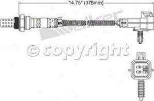 1997-1998 Buick Skylark Oxygen Sensor Walker Products Buick Oxygen Sensor 25024018 97 98