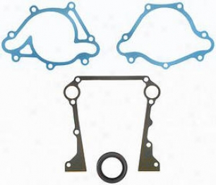 1997-1999 Dodge Dakota Timing Cover Gasket Set Felpro Dodge Timing Cover Gasket Set Tccs45996 97 98 99