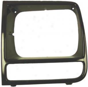 1997-2001 Jeep Cherokee Headlight Bezel Omix Jeep Hdadlight Bezel 12419.19 97 98 99 00 01